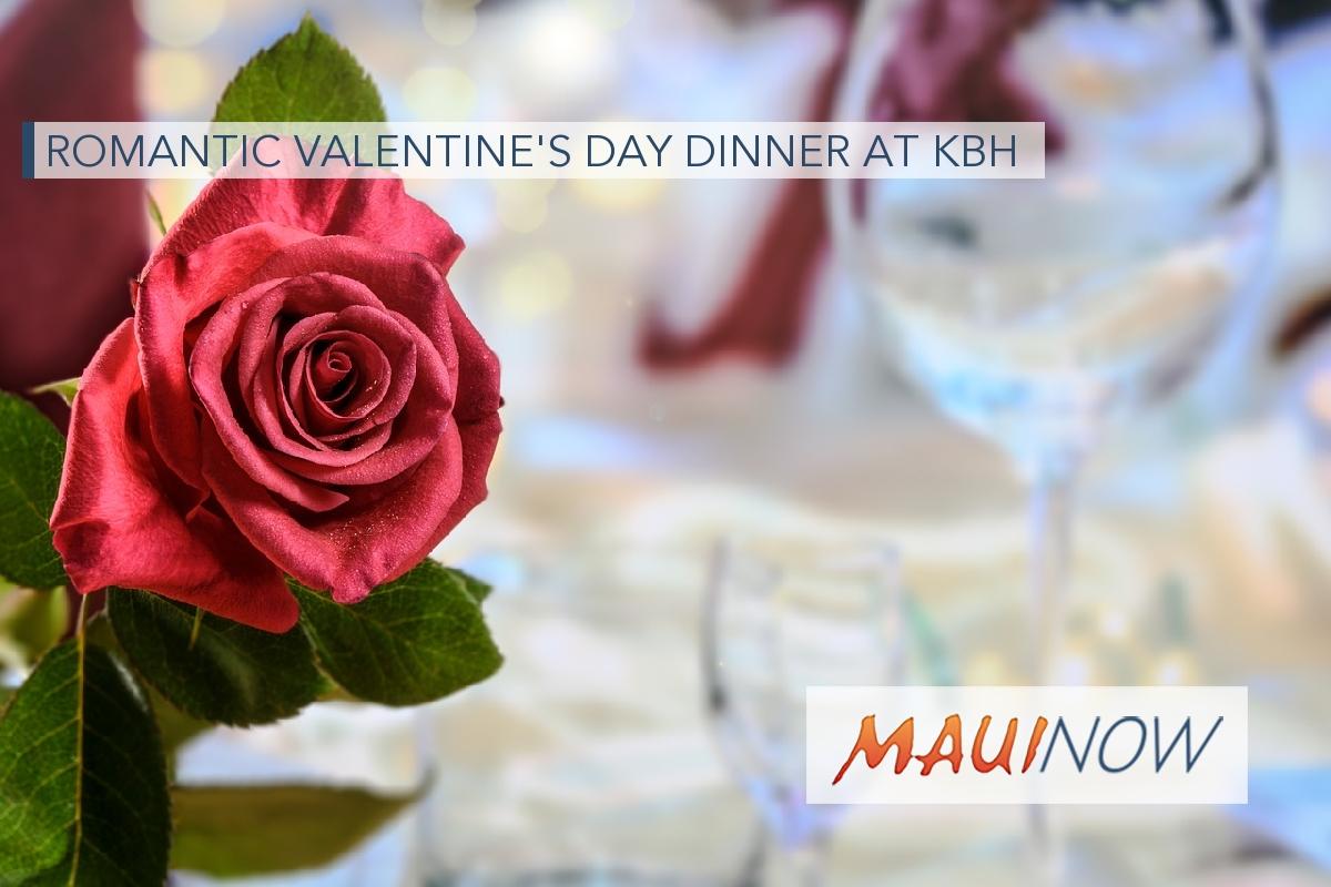 Romantic Valentine's Day Dinner at KBH