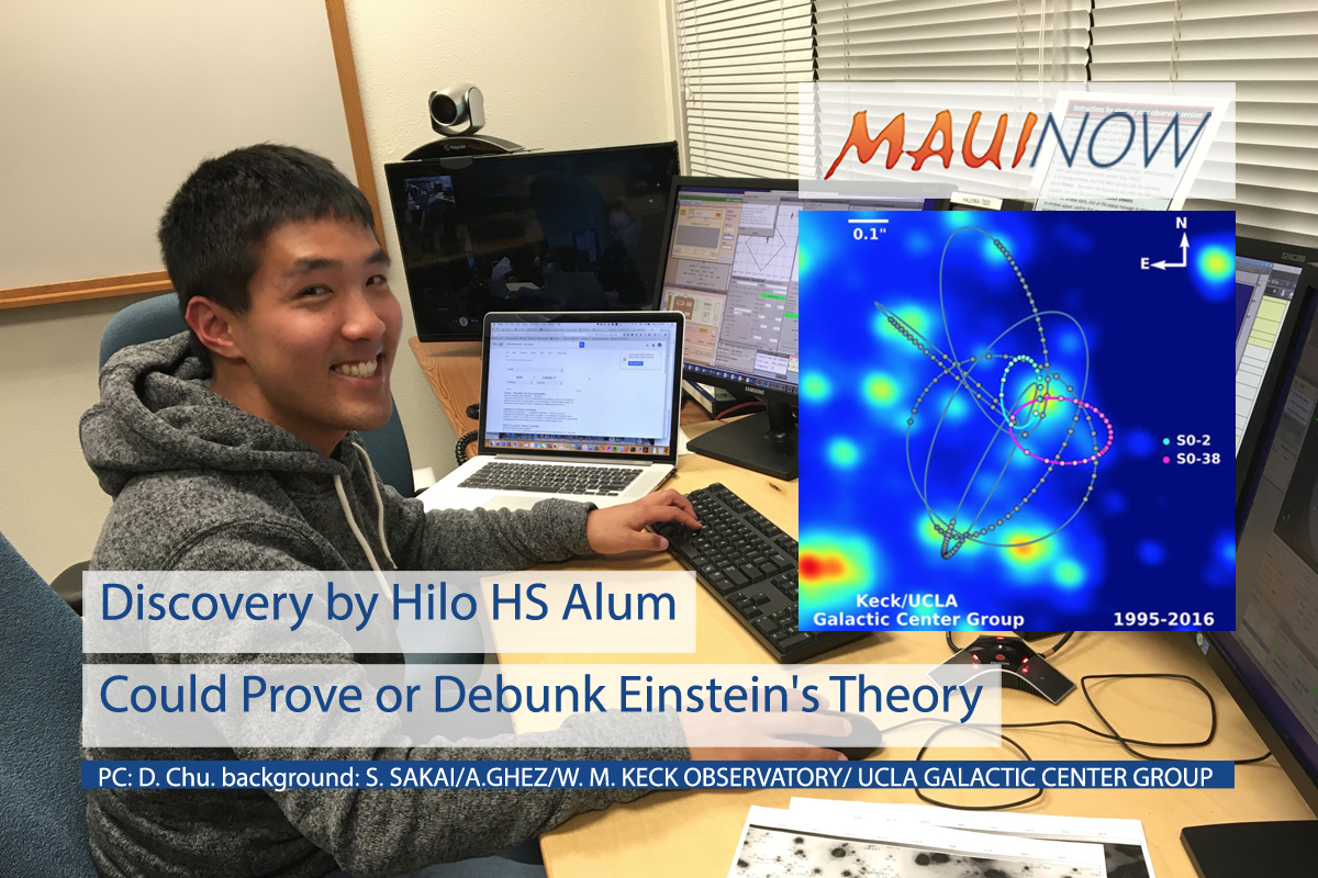 Discovery by Hilo Alum Puts Einstein's Theory to Test
