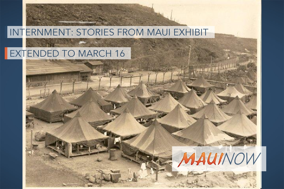 NVMC Extends Internment: Stories from Maui Exhibit to March 16