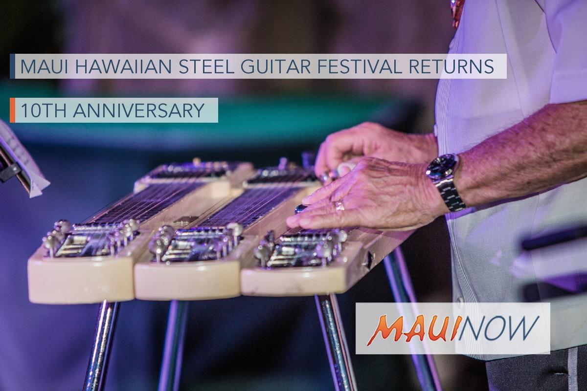 Maui Hawaiian Steel Guitar Festival Returns for 10th Anniversary