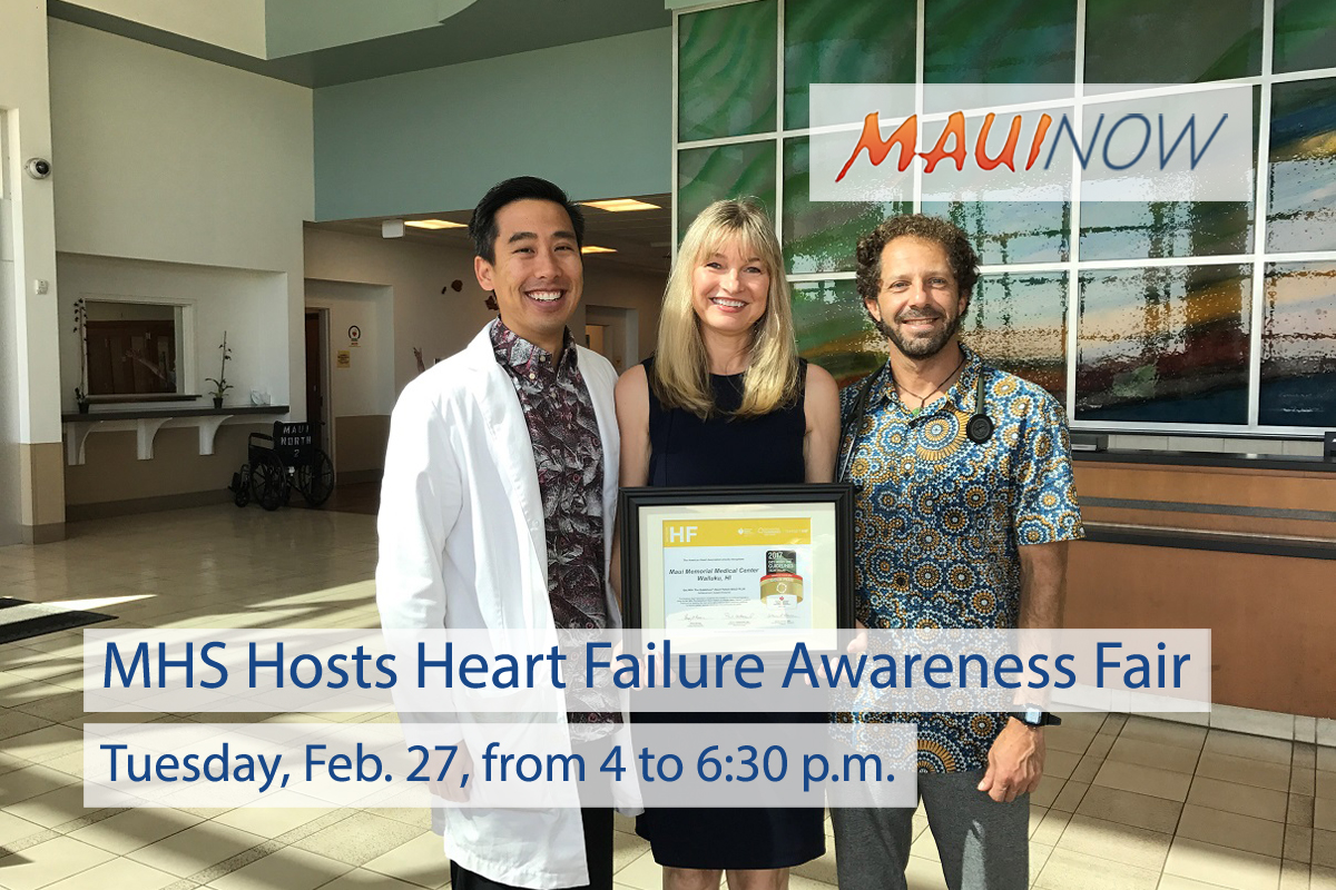 Maui Health System Hosts Heart Failure Awareness Fair