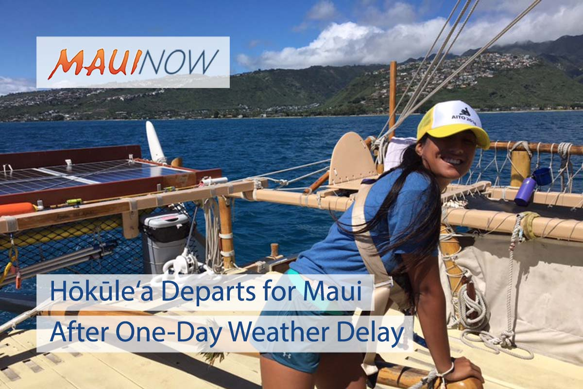 Hōkūle'a to Begin Maui Tours After Weather Delay