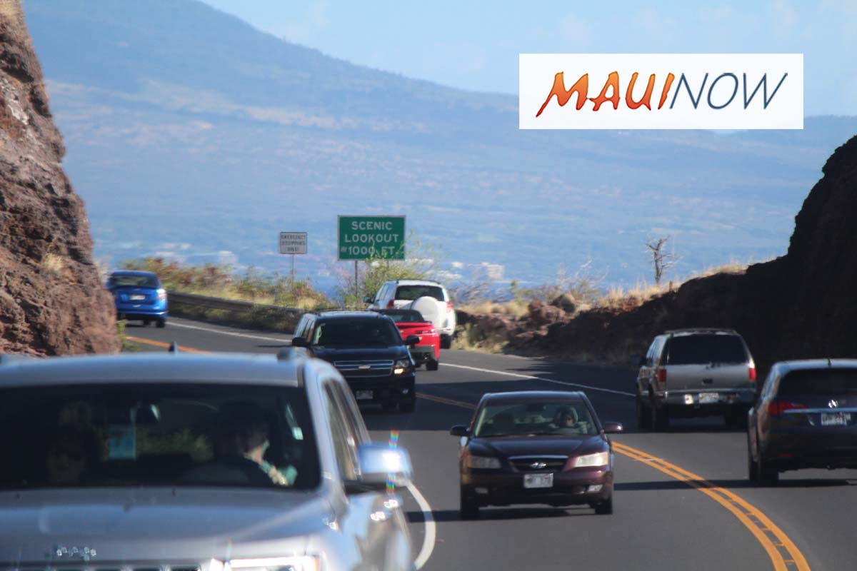 CIP Funds Released for Honoapi'ilani Highway