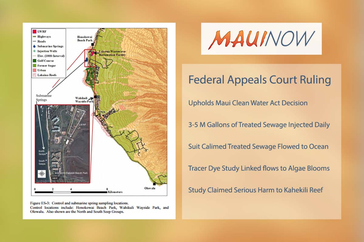 Appeals Court Rules on Case Involving Lahaina Injection Wells