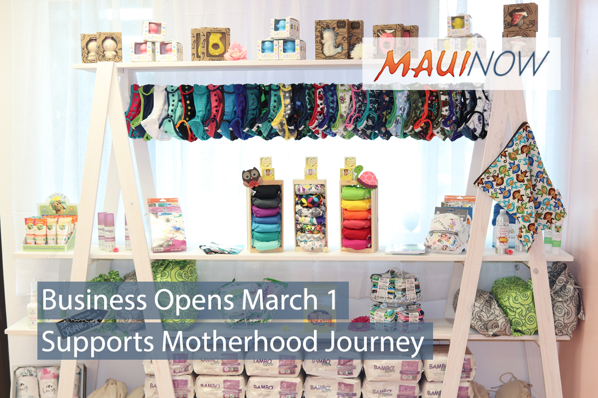 Mother-Daughter Duo Opens Motherhood Shop in Wailuku