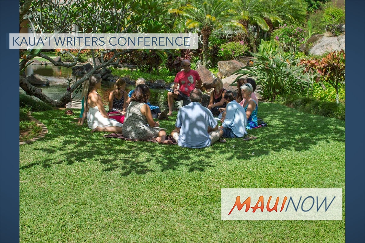 Registration Open for Kaua'i Writers Conference