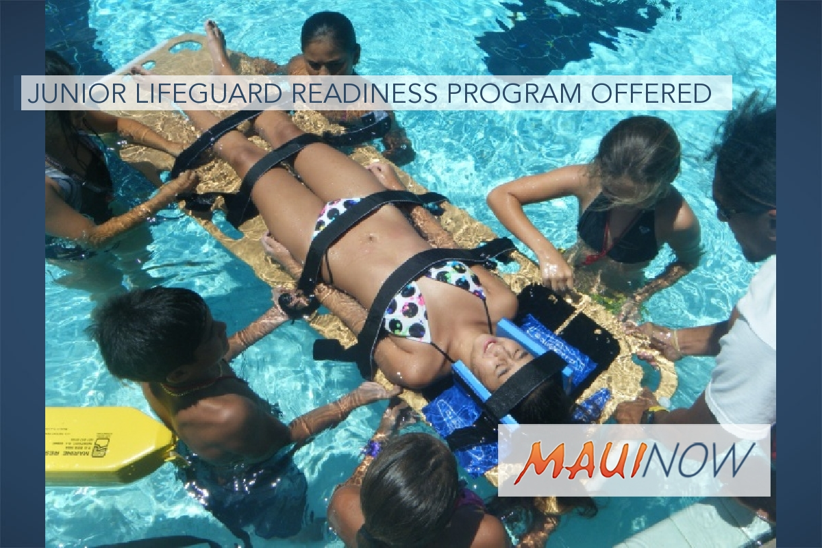 Junior Lifeguard Readiness Program Offered