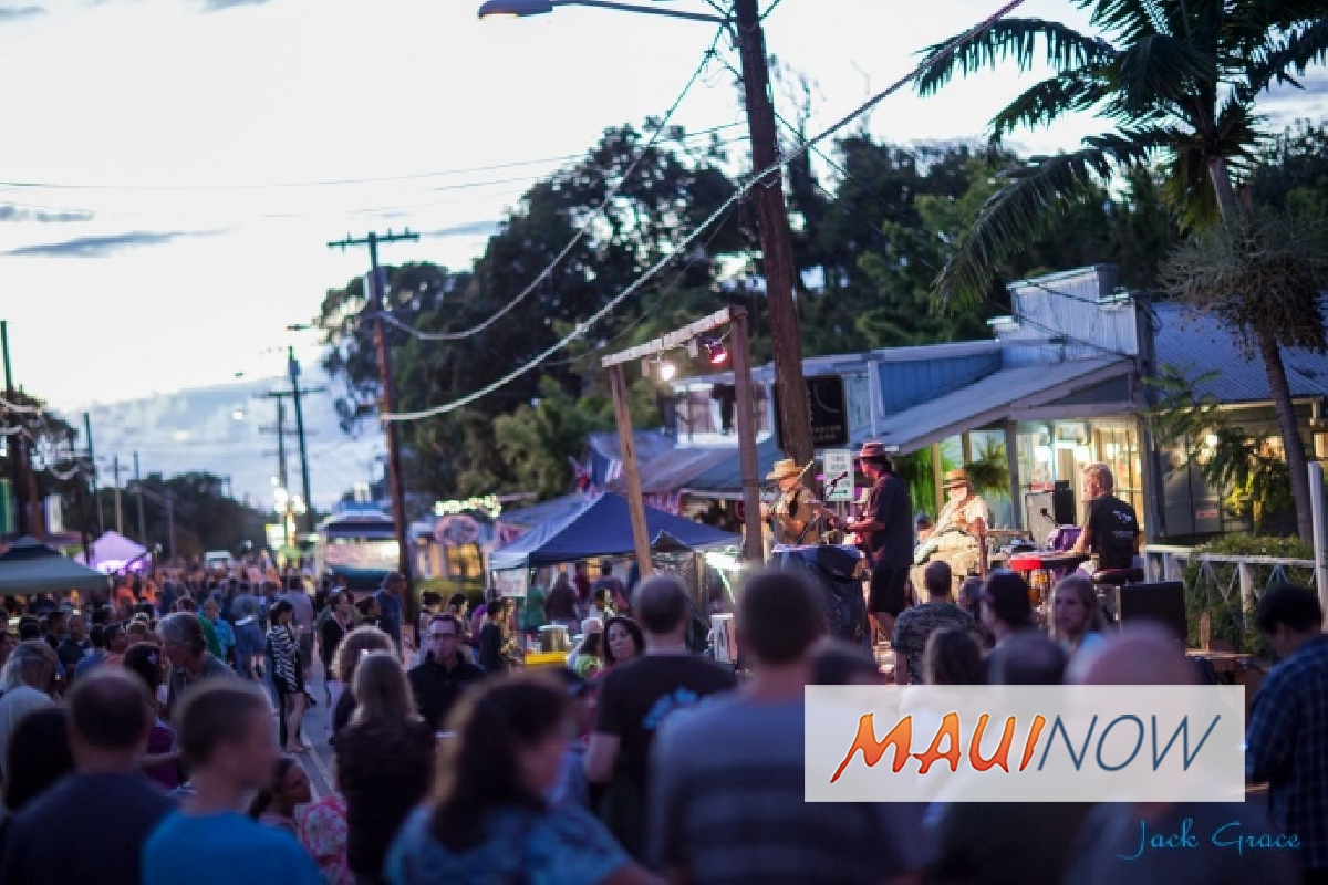 "Makawao Third Friday Town Party: ""Year of the Earth Dog"""
