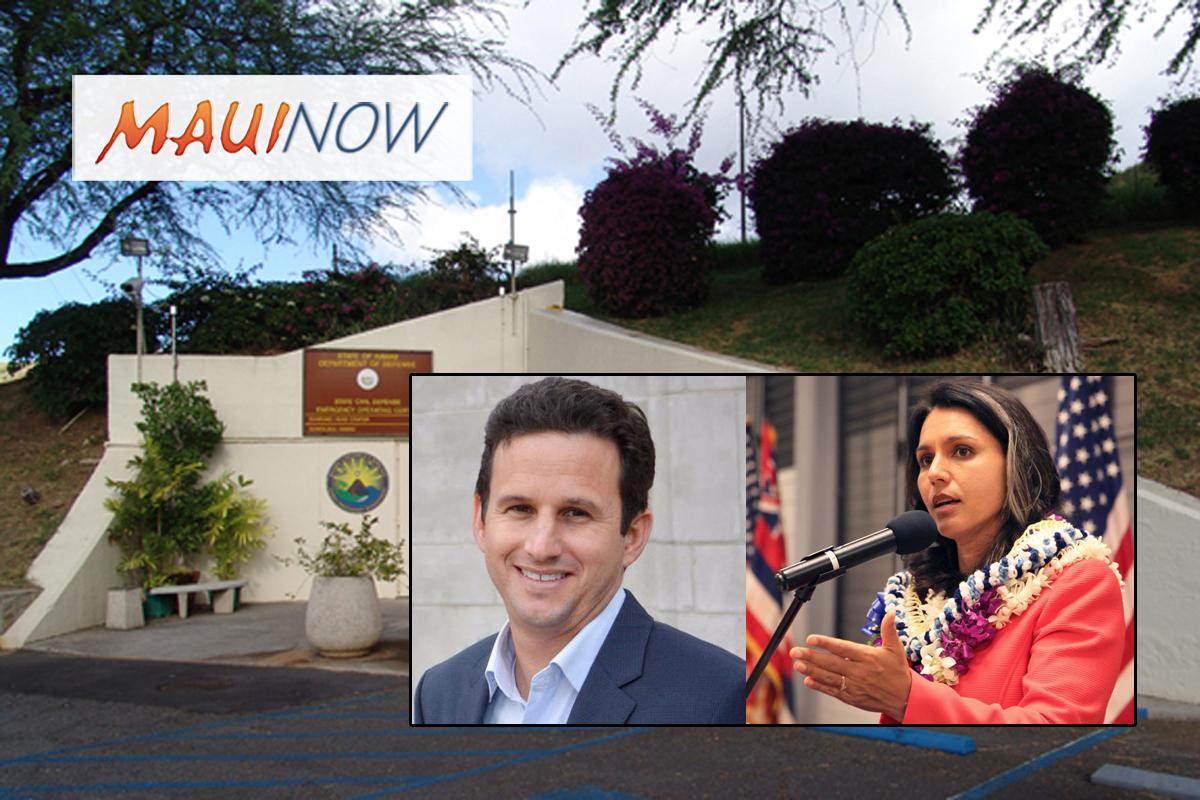 Hawai'i False Missile Alert Focus of Two Bills in Congress