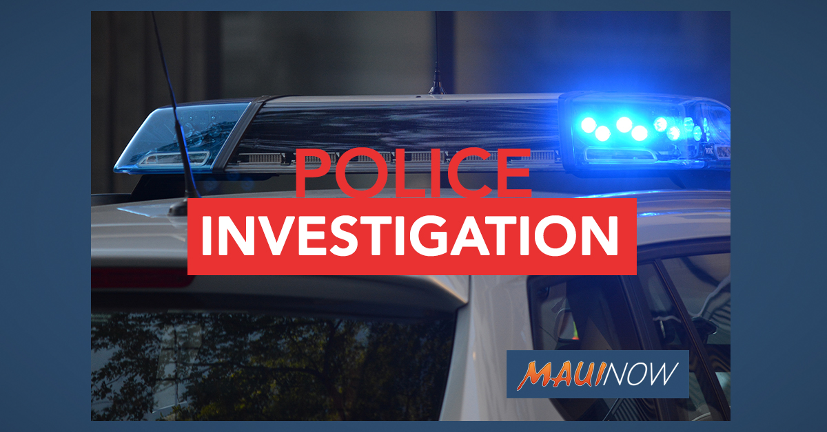 Maui Police Investigating Suspicious Male in Olinda Forest