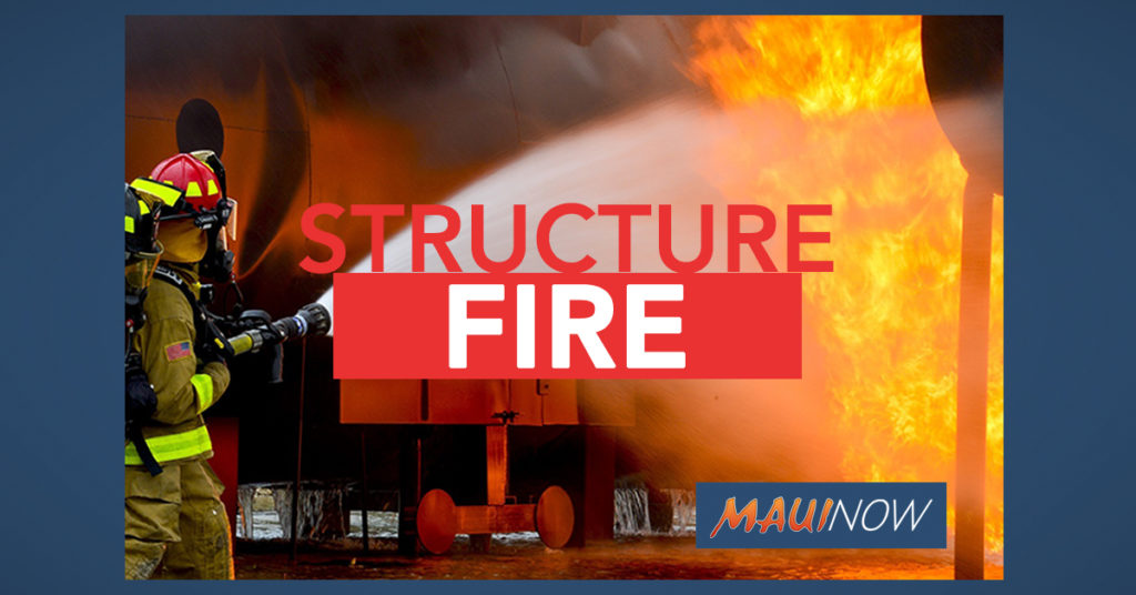 Maui Now: Family of Five Temporarily Displaced Following Home Fire on Manini Place in Kīhei, Maui