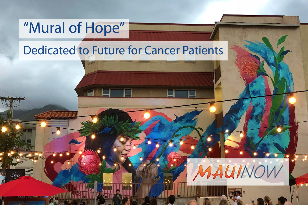 """Mural of Hope"" Dedicated to Future for Cancer Patients"