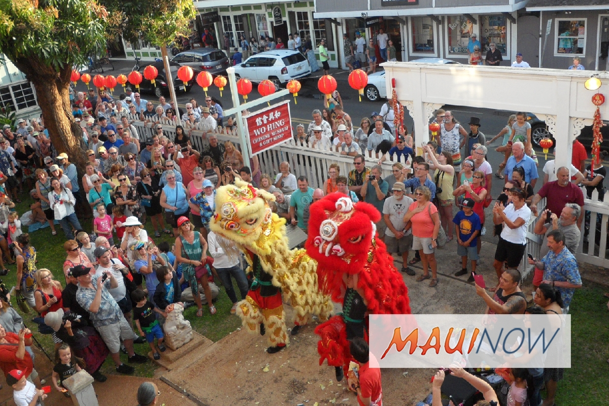 Chinese New Year Celebration in Lahaina