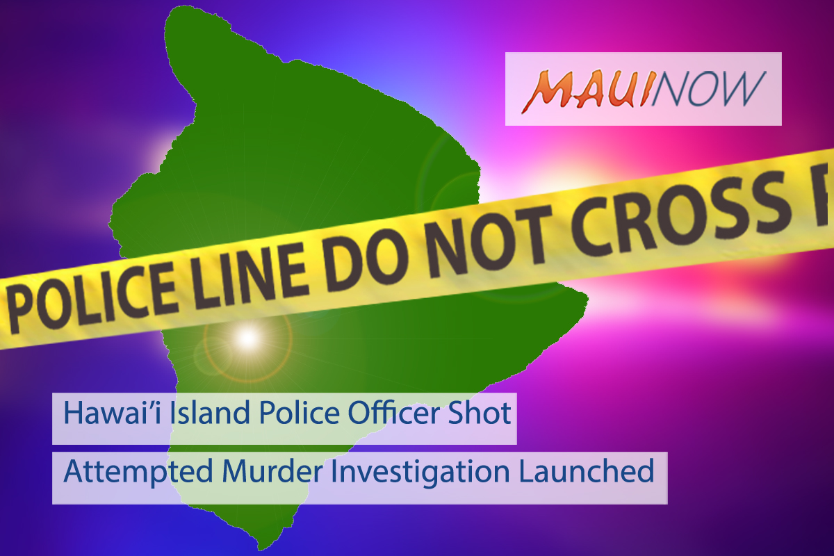 Hawai'i Island Police Officer Shot While Responding to Puna Assault