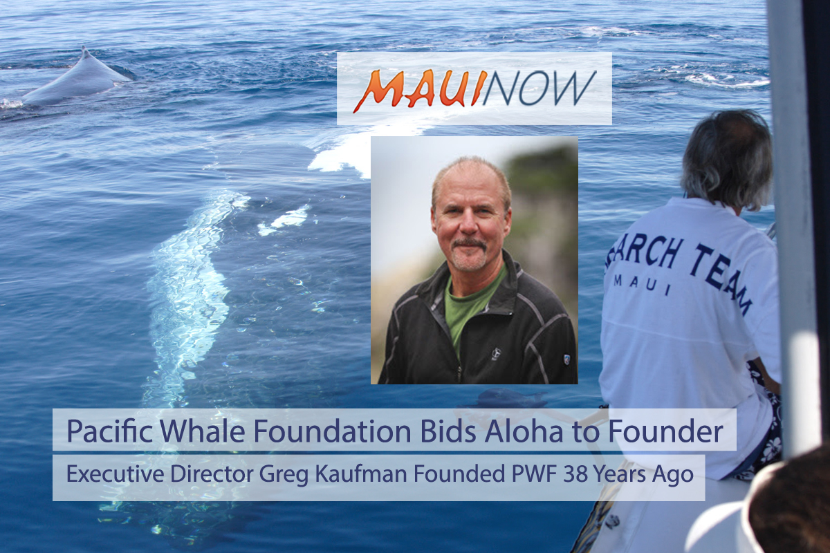 Pacific Whale Foundation Bids Aloha to Founder