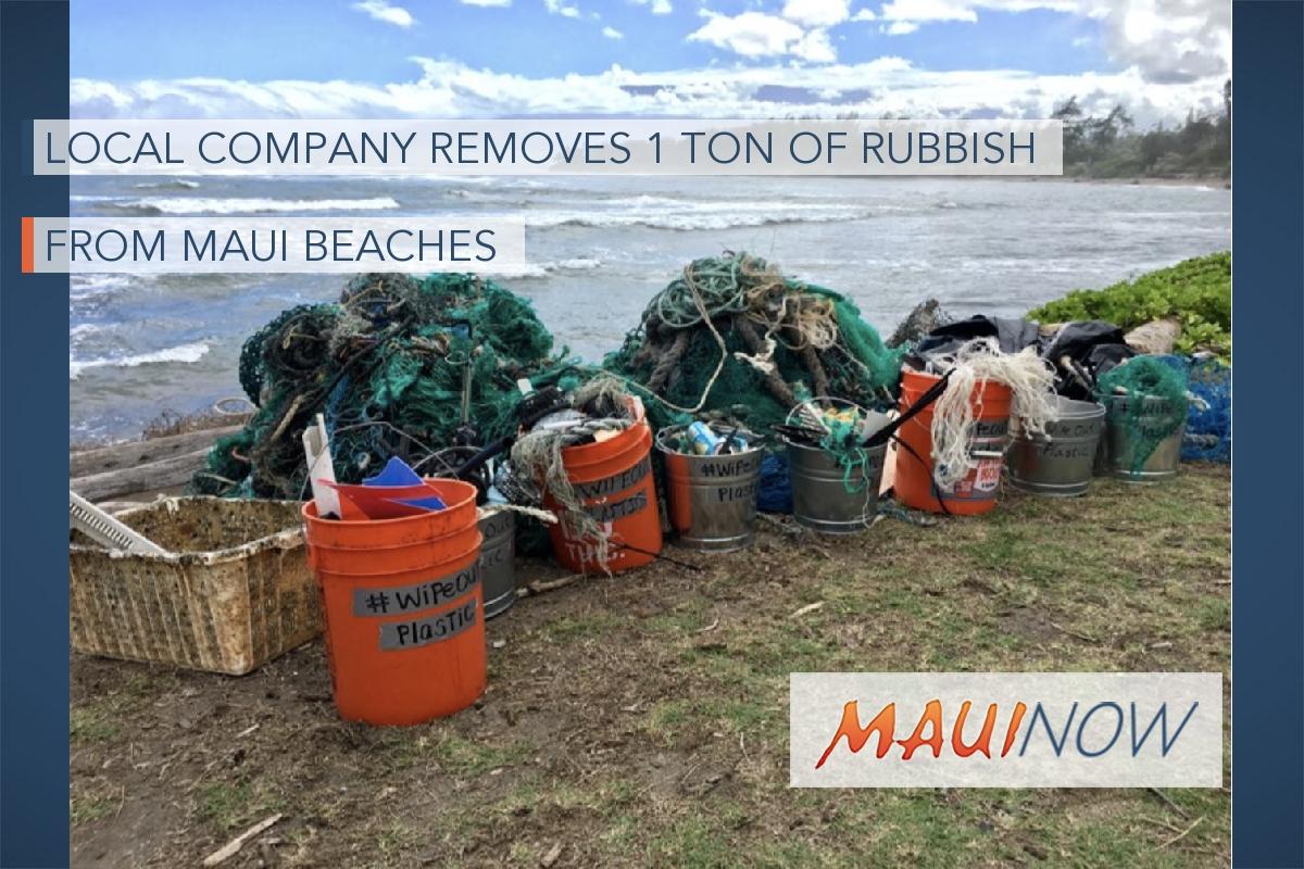 Skyline Hawai'i Removes 1 Ton of Rubbish from Maui Beaches