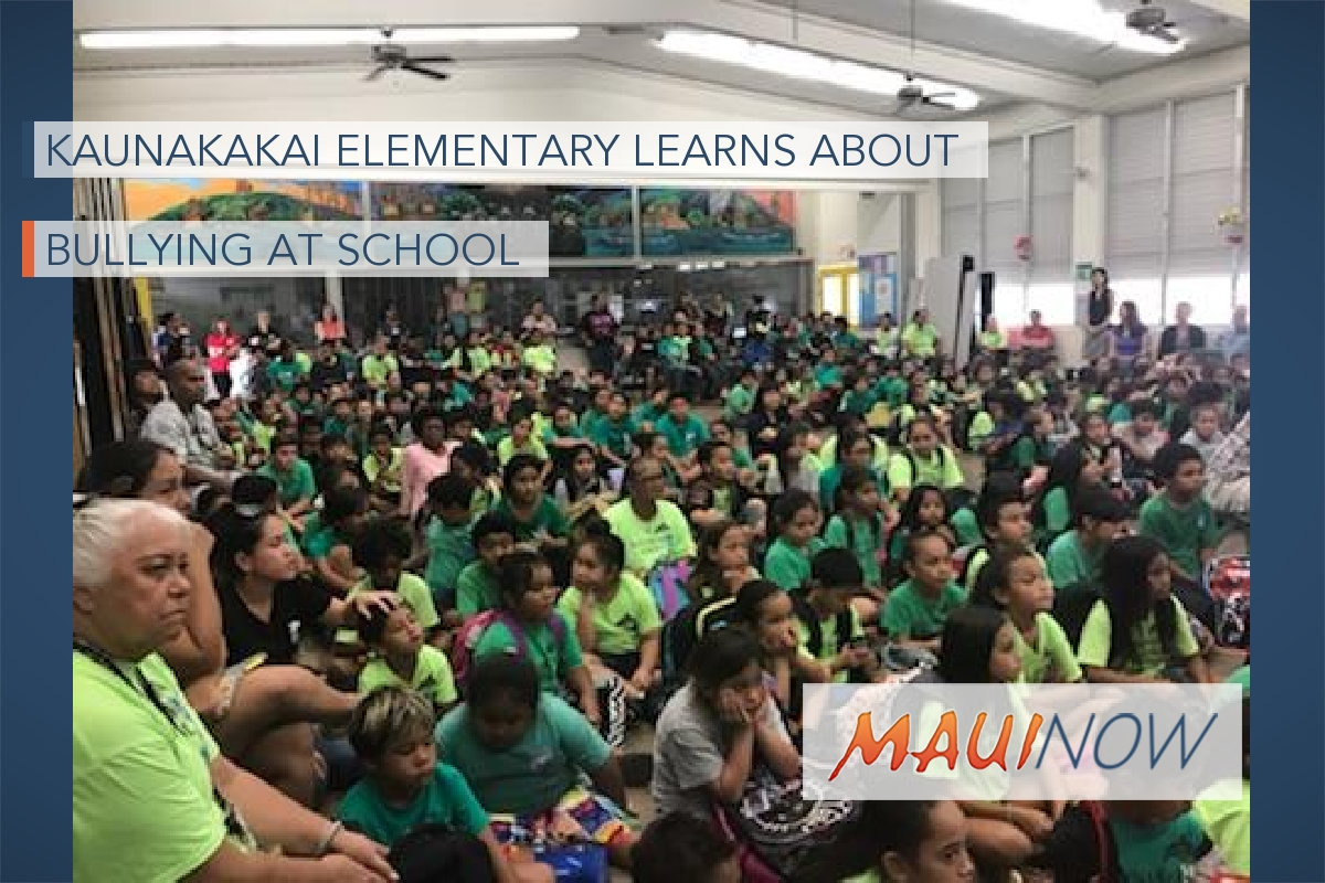 Kaunakakai Elementary Learns About Bullying at School