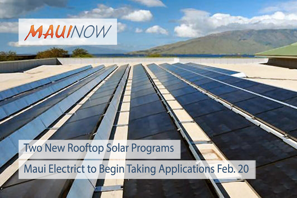 The Hawaiian Electric Companies to launch two new rooftop solar programs