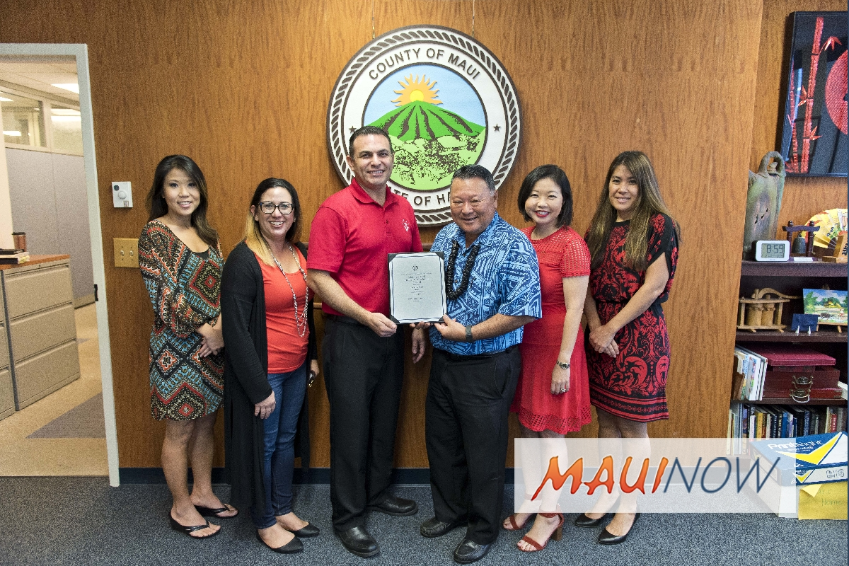 County Budget Team Receives Distinguished Award