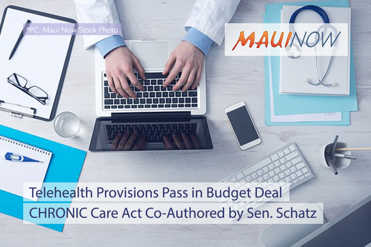 Telehealth Provisions Pass in Budget Deal