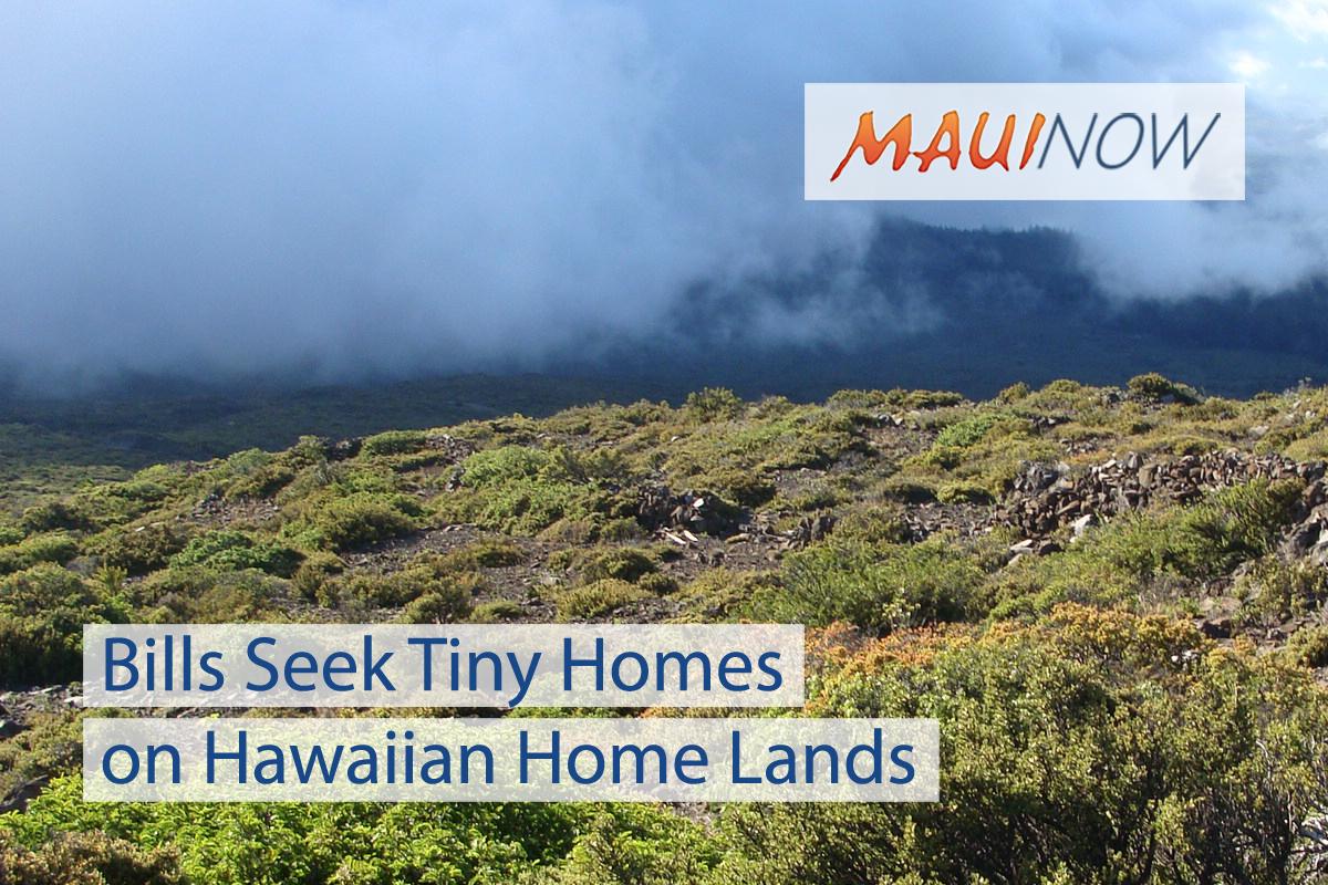 Bills Seek Tiny Homes on Hawaiian Home Lands