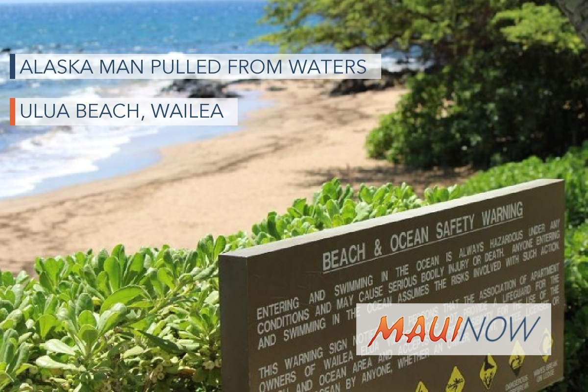 Alaska Man Pulled from Waters off Wailea