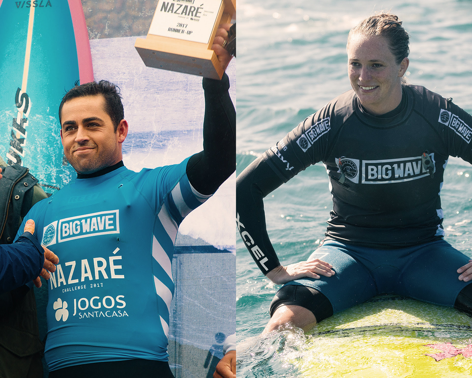 Maui's Kemper and Alms Win 2017/2018 Big Wave Tour Titles