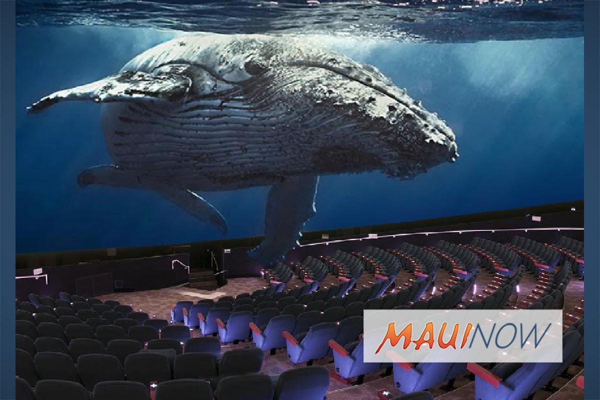 Maui Ocean Center Breaks Ground on Dome Theater Whale Exhibit