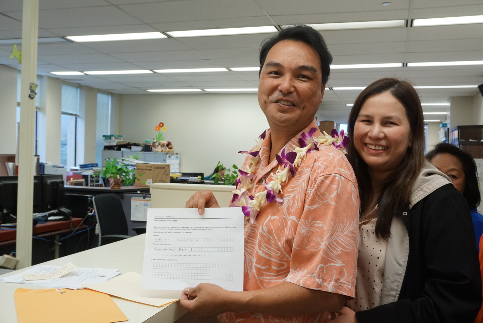 Councilmember Guzman Files For Maui Mayor's Race
