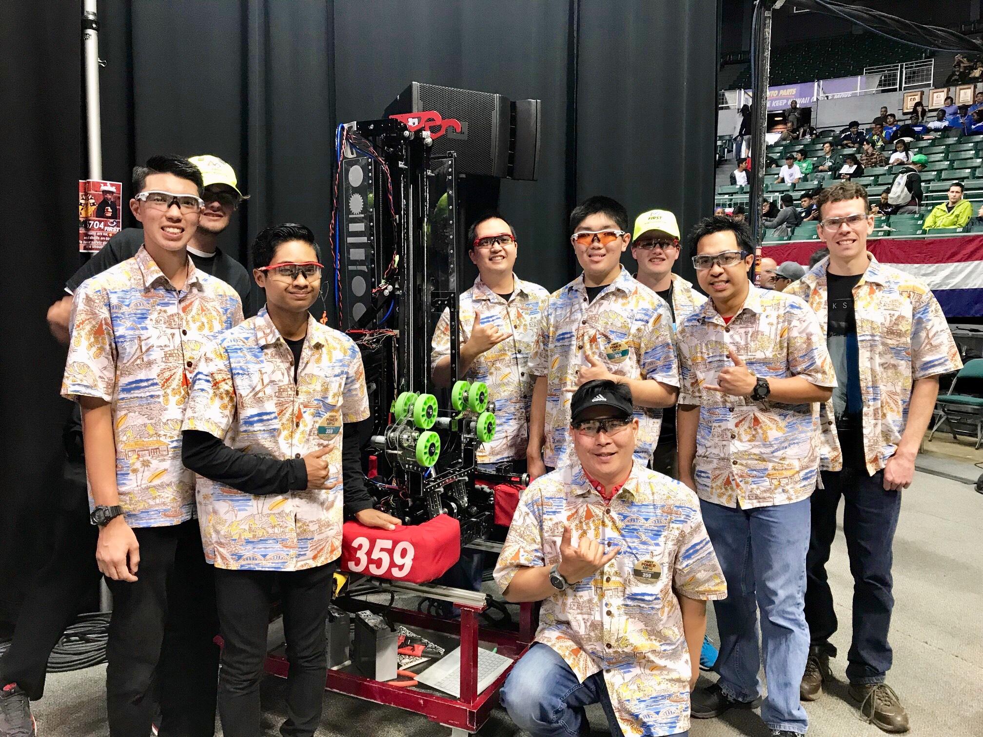 Lahainaluna and Maui HS Win Robotics Awards