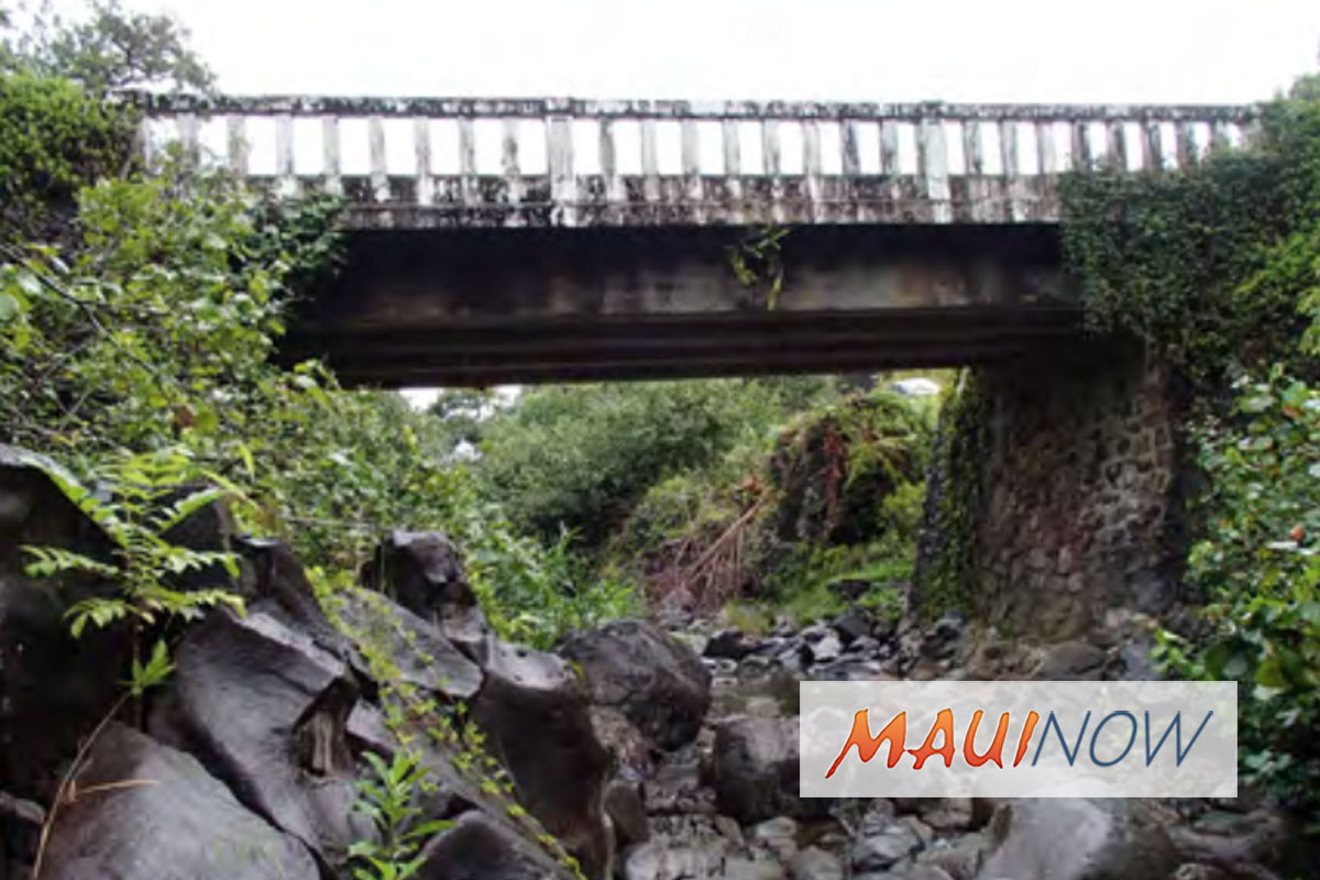 DOT to Hold Meeting for Hāna Highway Bridge Project