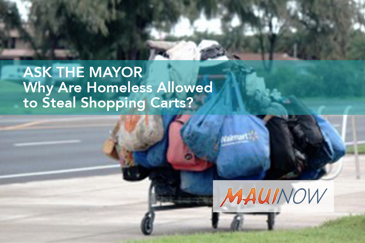 Ask the Mayor: Why Are Homeless Allowed to Steal Shopping Carts?