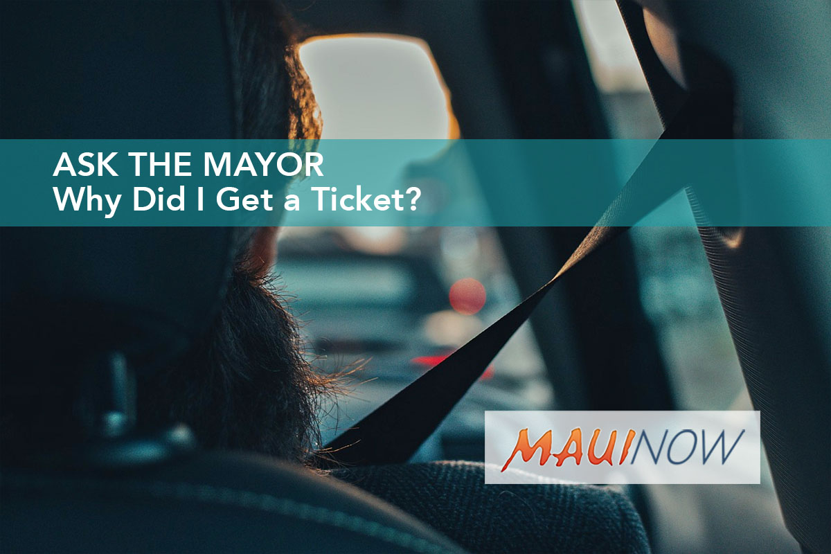 Ask the Mayor: Why Did I Get a Ticket?