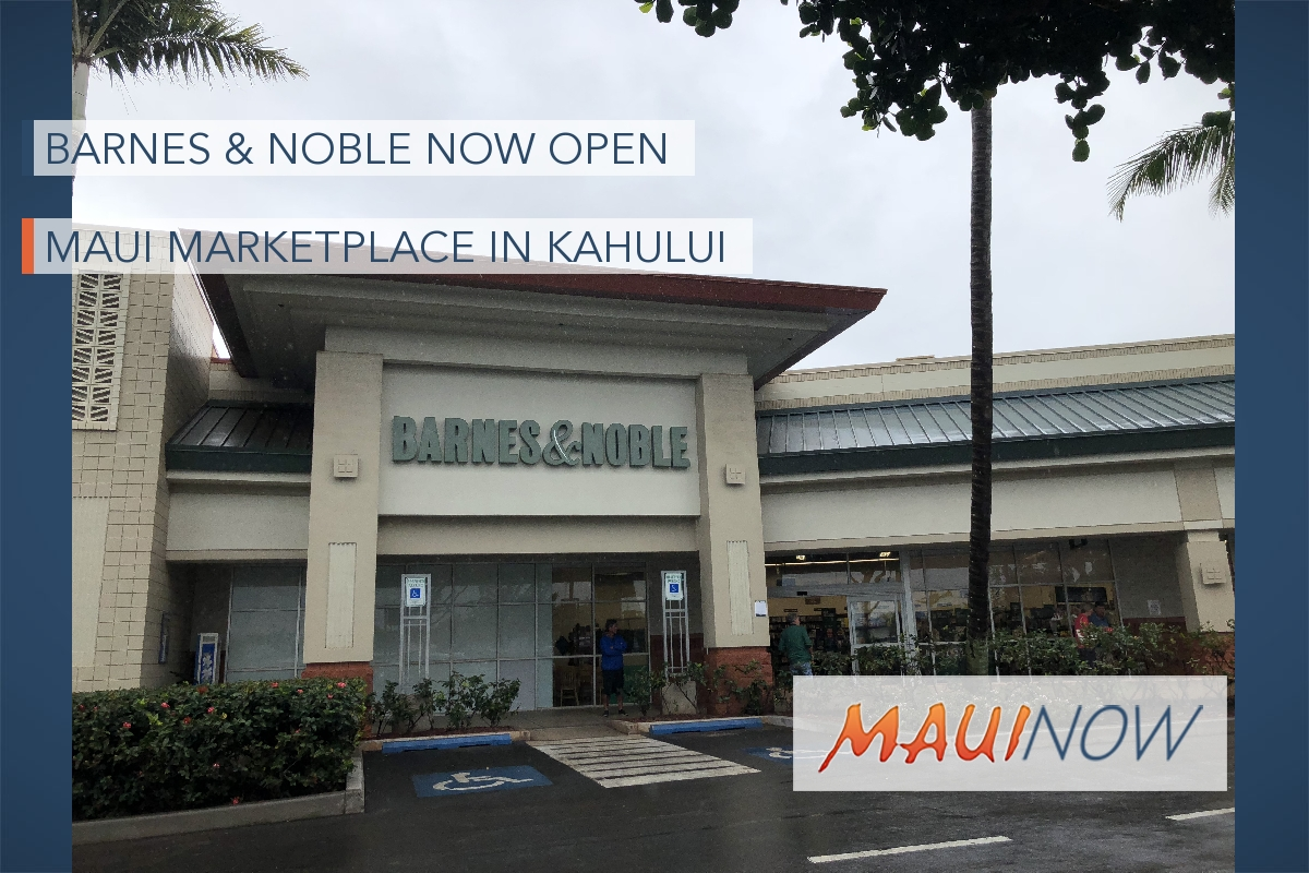 Barnes & Noble Opens Doors at Maui Marketplace