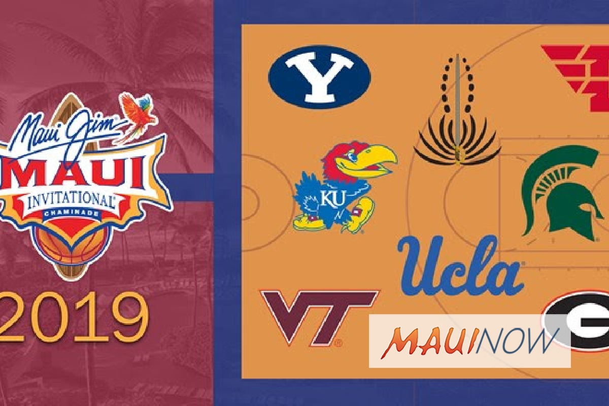 Maui Jim Maui Invitational Announces Powerhouse Field for 2019