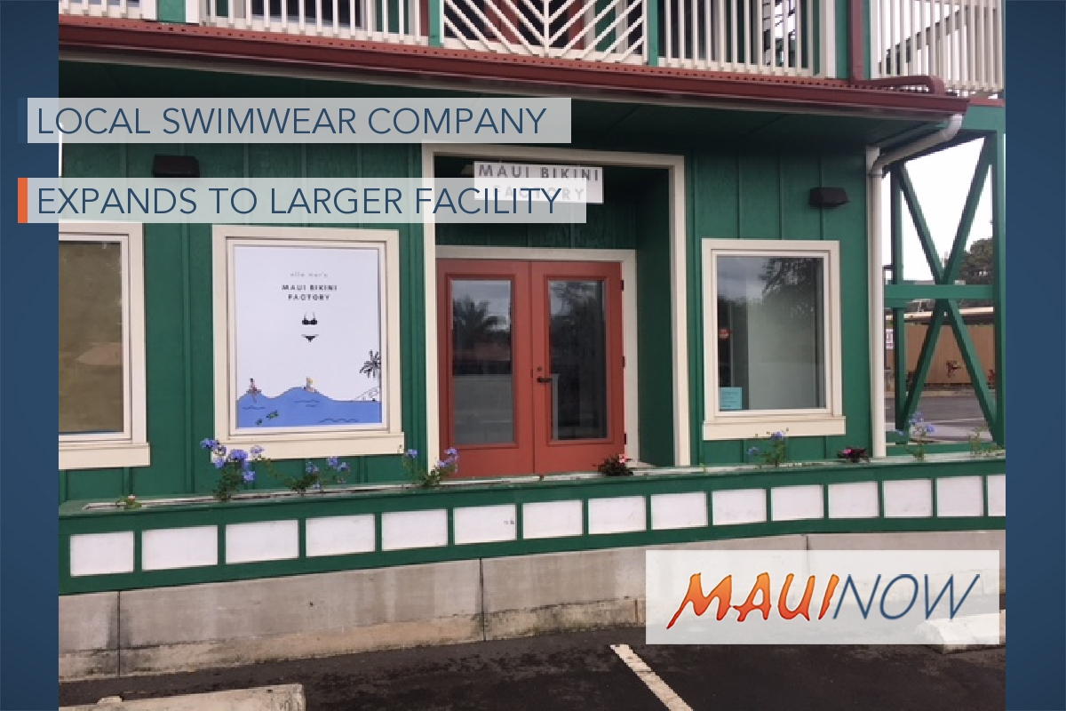Local Swimwear Company Expands To Larger Facility