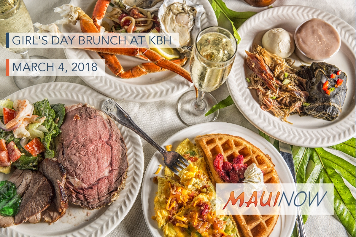 Kāʻanapali Beach Hotel Hosts Special Girl's Day Brunch