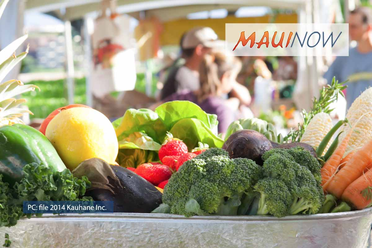 Maui Seniors Eligible for $50 Farmers' Market Vouchers