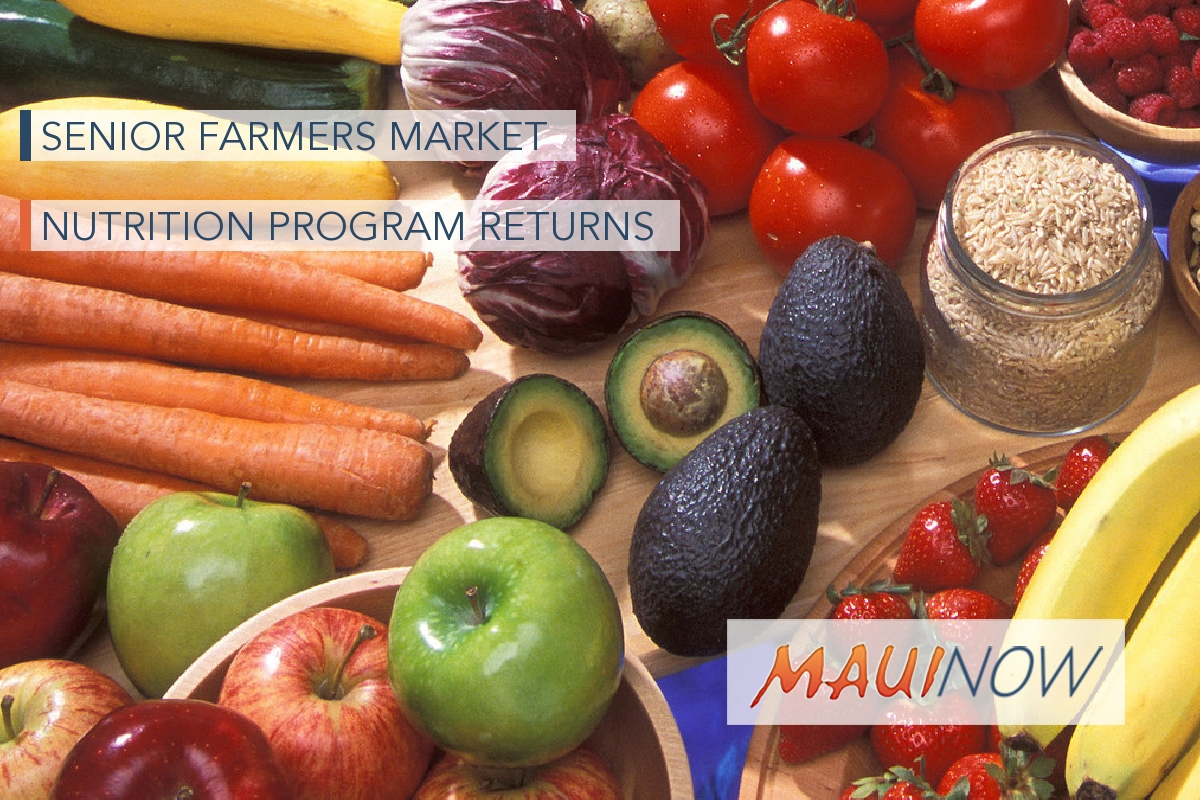 Senior Farmers Market Nutrition Program Returns