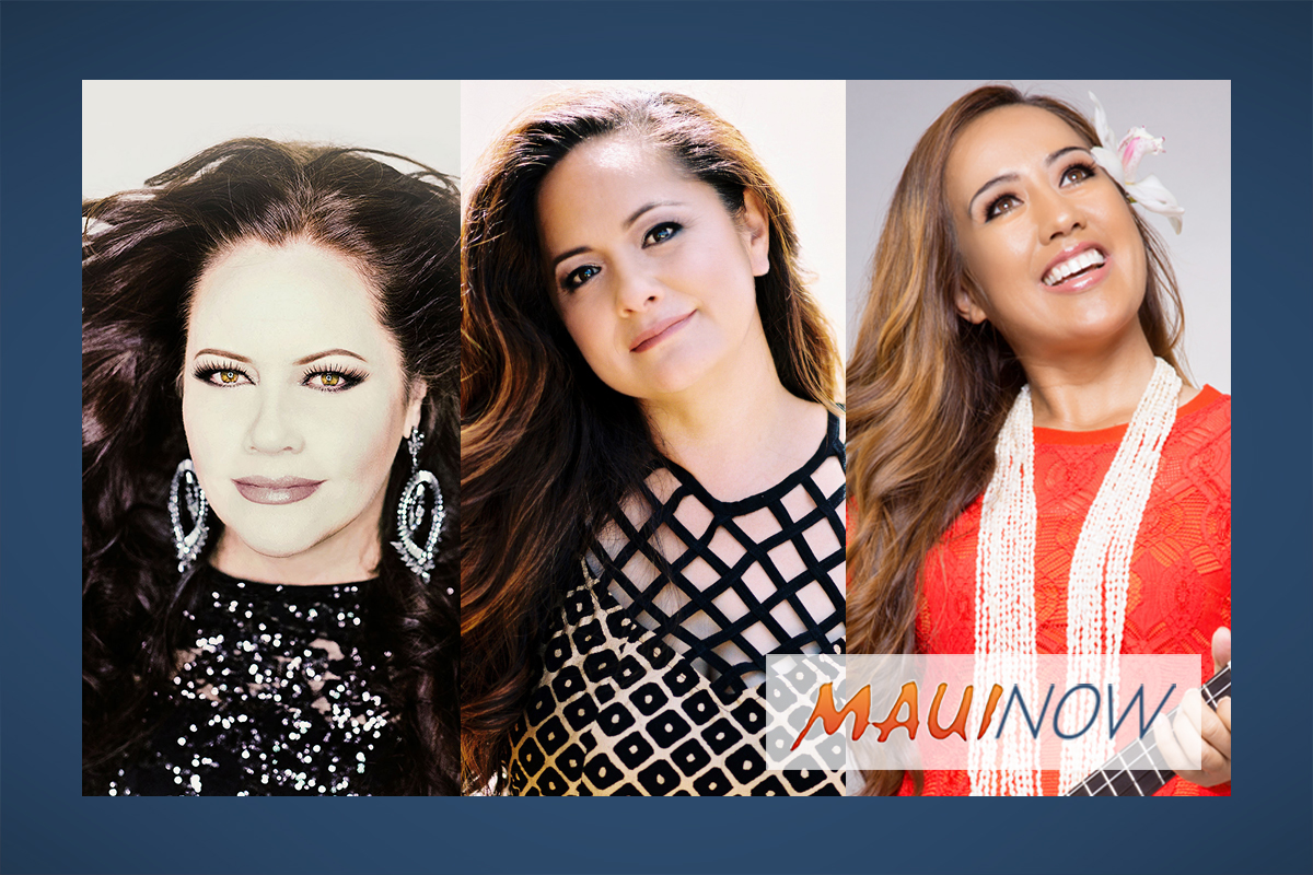 Three Maui Divas: Nāpua Greig, Amy Hānaialiʻi & Raiatea Helm Return to MACC