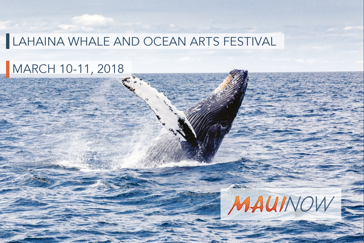 Lahaina Whale and Ocean Arts Festival 2018