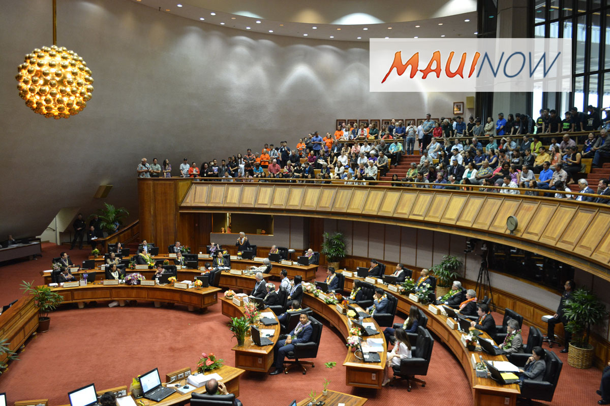 State Legislature Funds $368 Million for Maui Capitol Improvement Projects