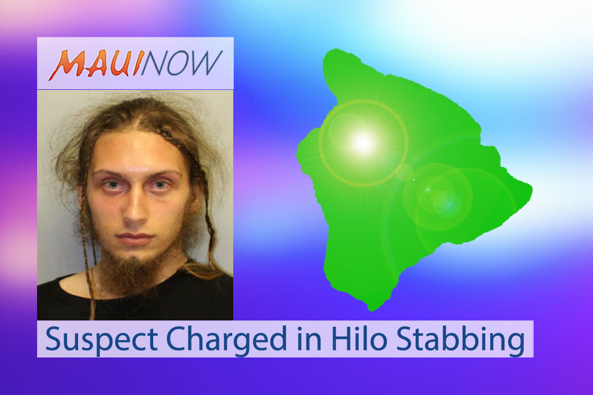 Suspect Charged With Attempted Murder in Hilo Stabbing
