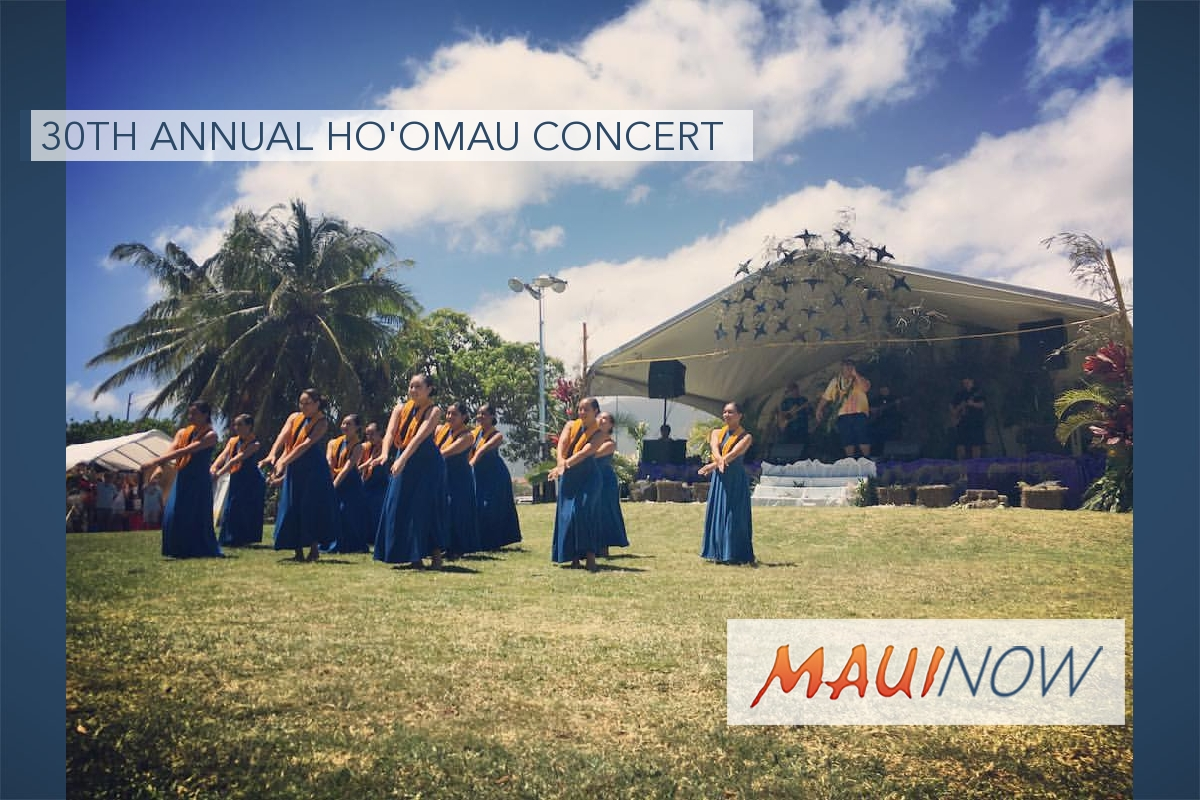 30th Annual Hoʻomau Concert to Benefit Hawaiian Immersion Preschool