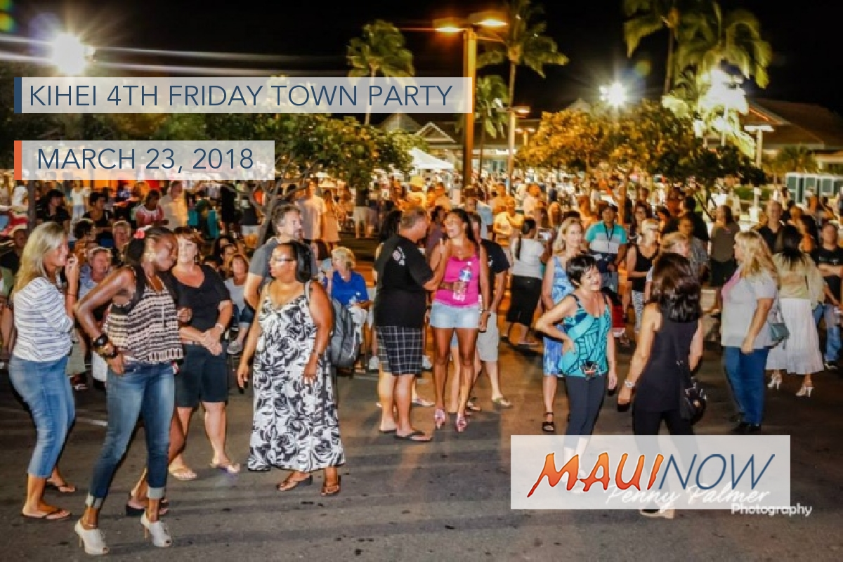 Kīhei 4th Friday Town Party, March 23
