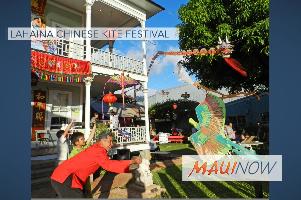 Celebrate National Kite Month at Lahaina Chinese Kite Festival