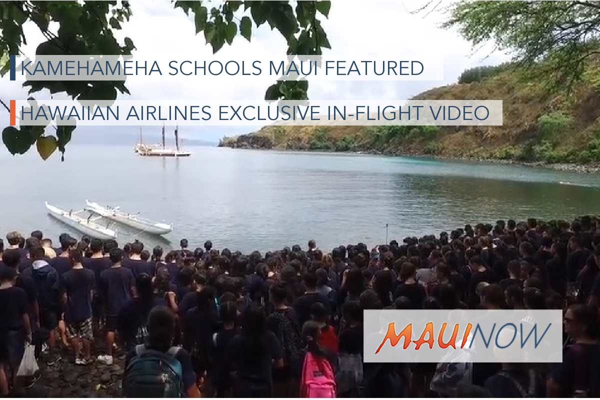 Hawaiian Airlines Brings Culture-Based Education Onboard