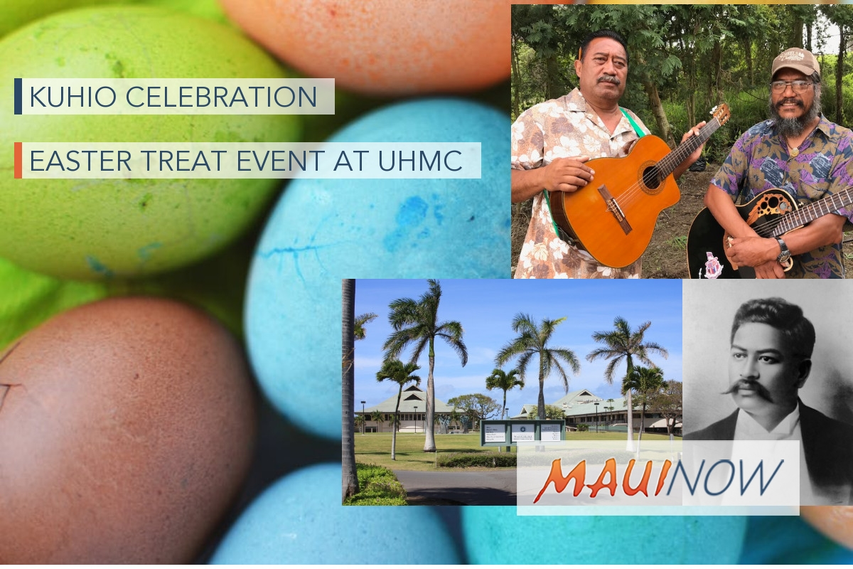 Kuhio Celebration and Easter Treat Event at UHMC
