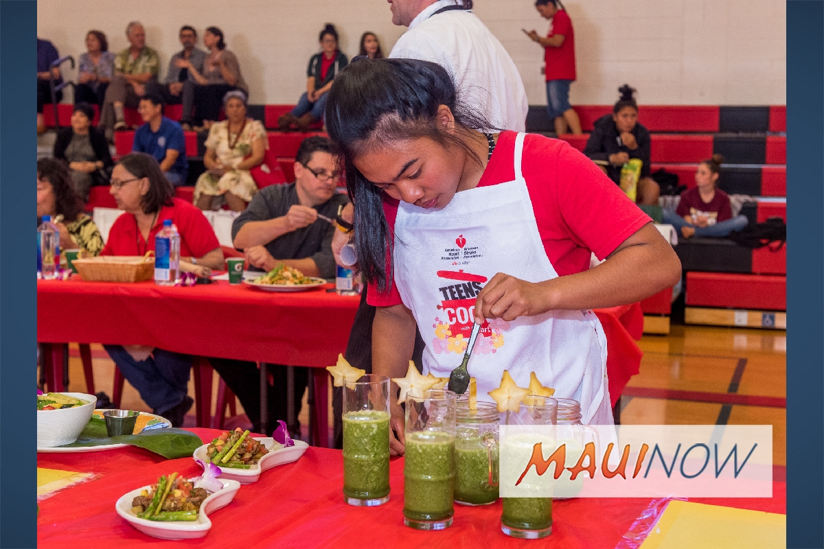 Maui Youth Get a Taste of Better Eating with American Heart Association