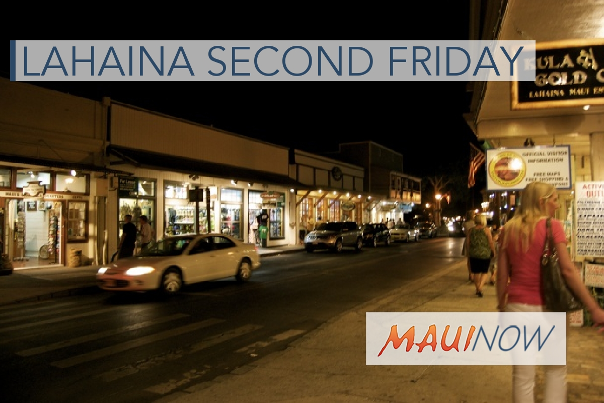 Second Friday to Light Up Lahaina Town